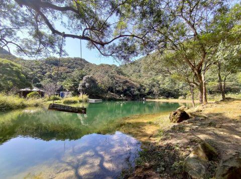 台湾新北市-夢湖のほとり