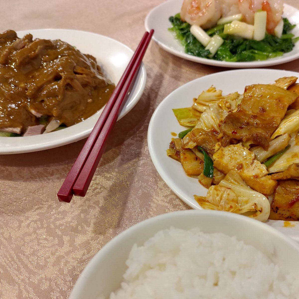台北 小魏川菜館の料理